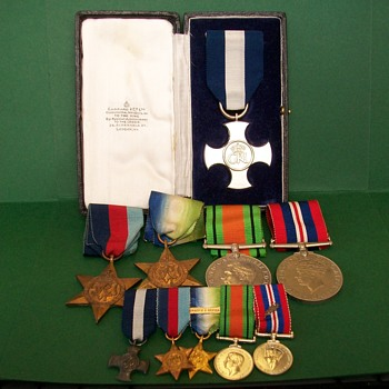 DSC Group of Medals WW2  - Military and Wartime