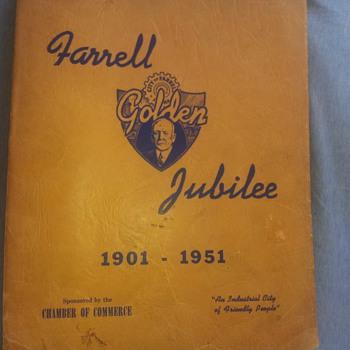 Farrell Golden Jubilee 1901-1951 Souvenir Book - Books