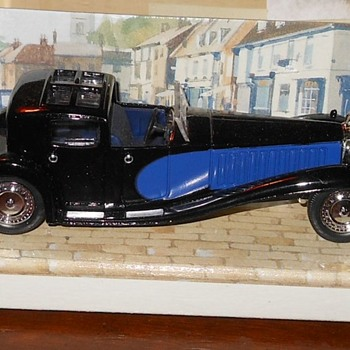 Matchbox Yesteryear Bugatti Royale Napoleon - Model Cars