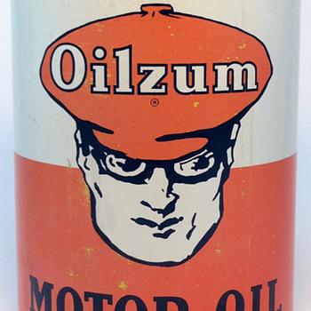 Oilzum - 1 US Quart Oil Can - Petroliana