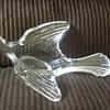 Crystal glass bird
