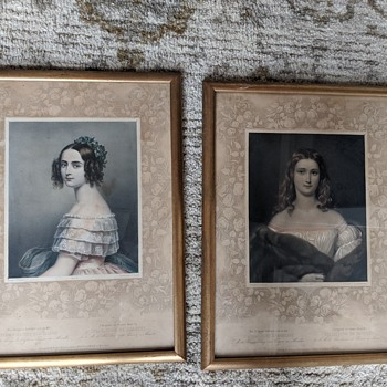Antique Engraving Collection de Beautes Help with dating and general knowledge - Fine Art