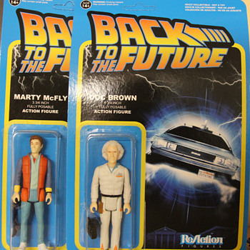 Back To The Future Action FIGURES! Doc and Marty!  - Toys