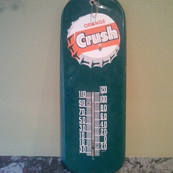 orange crush thermometer