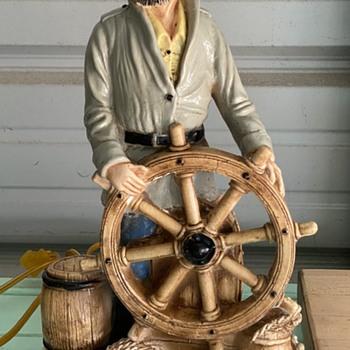 Nautical Fisherman Lamp