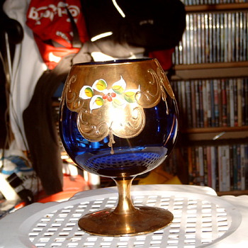 An old glass - Art Glass