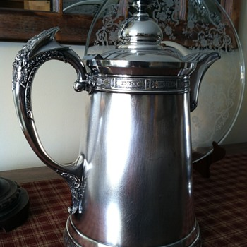 Wilcox 1878 Iced-Water Pitcher - Silver