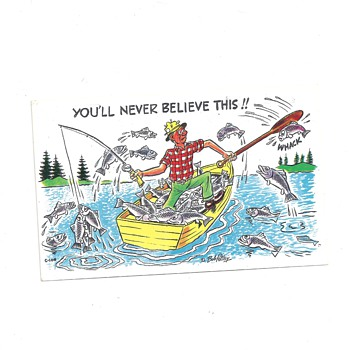 """YOU'LL NEVER BELIEVE THIS"" :D ""HAPPY FATHERS DAY TO ALL FATHERS""HERE AT CW - Postcards"