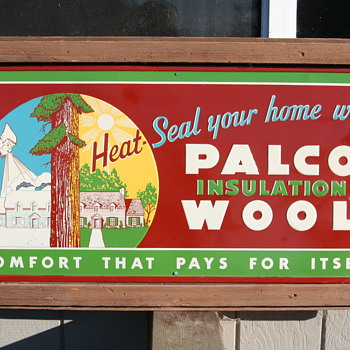 PALCO Insulation Wool Sign