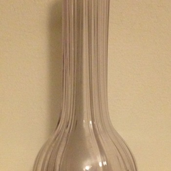 Small lilac Schindler & Sons David Loebl 1922 vase - Art Glass