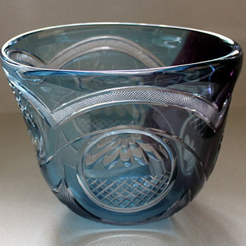 Edo Kiriko vase from Yabe Glass Crafts - Art Glass