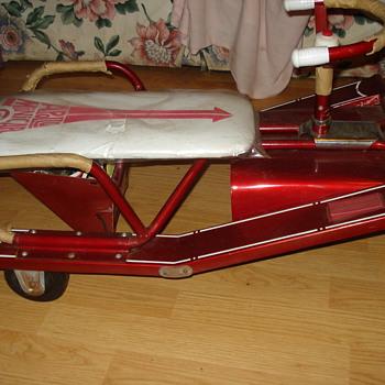 Apollo Mini Car Scout Electric Kiddie Car 1960's  - Model Cars