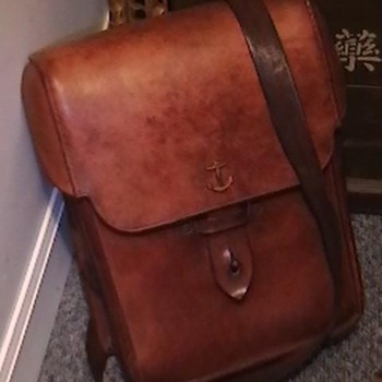 WW II Imperial Japanese Marine Officer Map Case - Military and Wartime
