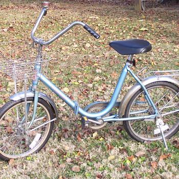 worksman foldup bike
