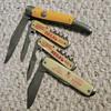4 POCKET KNIVES