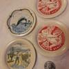 4pcs CALIFORNIA souvenir tin coasters