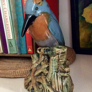 Weller Woodpecker - Pottery