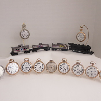 A Few Railroad Grade Pocket Watches - Pocket Watches