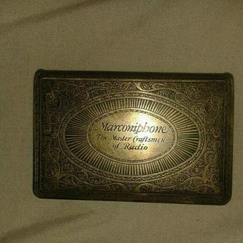 vintage match box holder