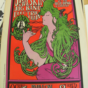 Vintage Concert Posters, Part 1 of 3