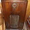 Old Philco console radio