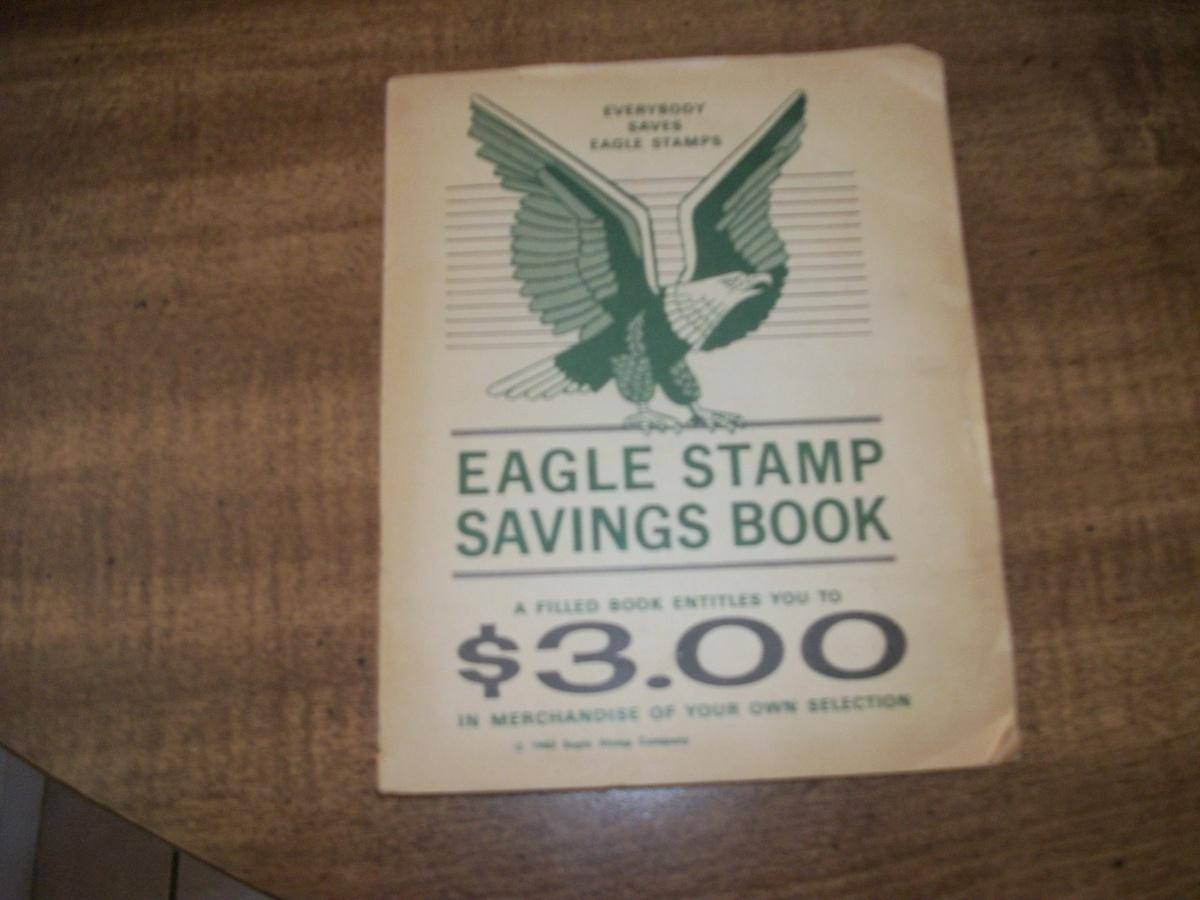 Eagle Stamp Savings Book