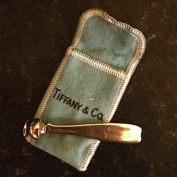 Tiffany telephone dialer. - Silver