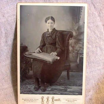 Antique Victorian Cabinet Card Photos - Photographs
