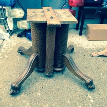 Tiger oak legs  - Furniture