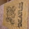 Beatles silkscreen concert banner 66 69 concert