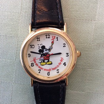 Mickey Mouse saying how I feel !! - Wristwatches