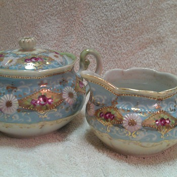 Sugar and Creamer - China and Dinnerware
