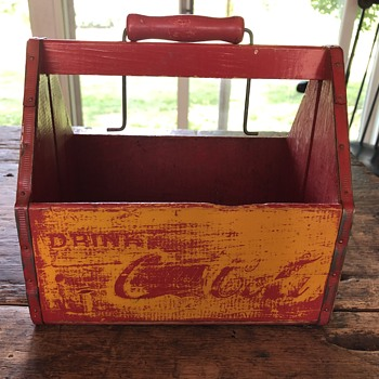 Red 6 Pack Coke Carrier - Coca-Cola