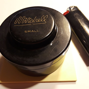 little MITCHELL screwtop container - Fishing