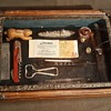 Vintage Wood Table Top Display Case