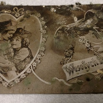 Found in a home wall, 1920s? - Postcards