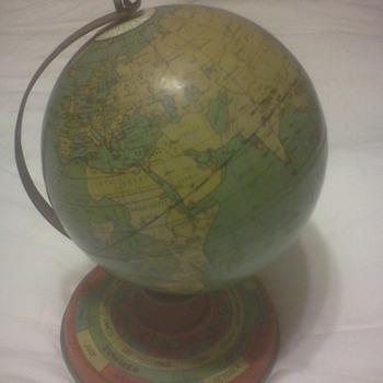 Ohio Art Globe 1929 - Office