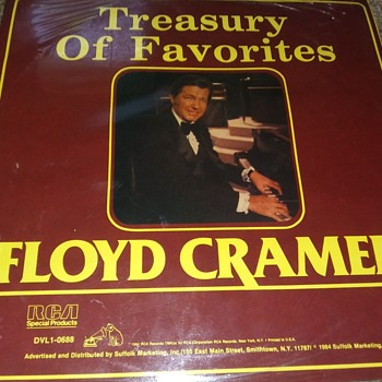 Floyd Cramer...On Two Mint 33 1/3 RPM Vinyl - Records