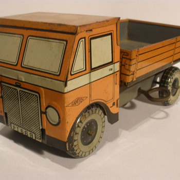 Camtoy dump truck, wind up tin. 30s?  - Model Cars