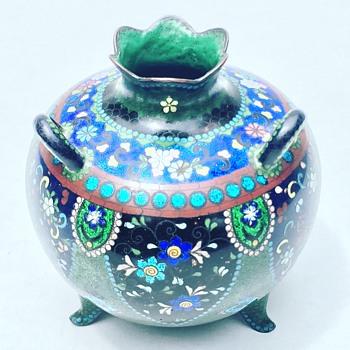 Vintage Japanese Cloisonné  - Pottery