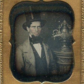 Daguerreotype of a mid-19th century silver bowl - Silver