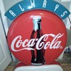 Interesting Plastic Coke Sign