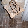 Wrought Iron Ashtray Stand