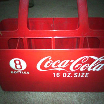 Old Coca Cola container  - Coca-Cola