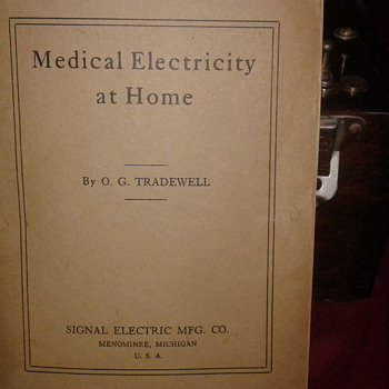 Home electric therapy kit.