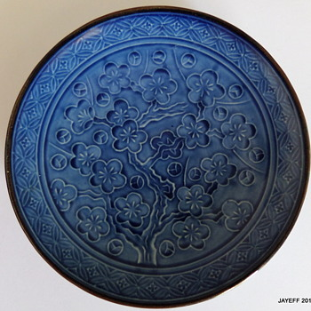 Asian Small Blue Plate