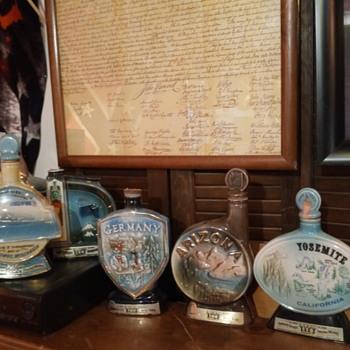 My Man Jim Beam - Bottles
