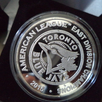 2015 AL East Division Champions Silver Coin by Highland Mint