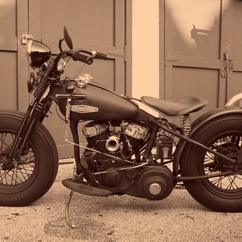 Old Harley - Motorcycles