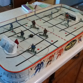 "Early 1960s Table Hockey ""N.H.L. Power Play Electric Hockey"" - Hockey"